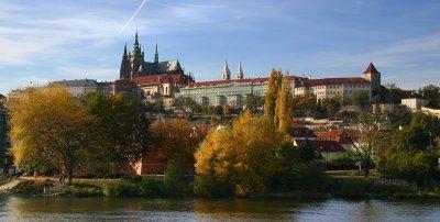 Prag, Blick auf Hradčany