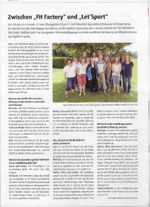 HTV Zeitungsartigel