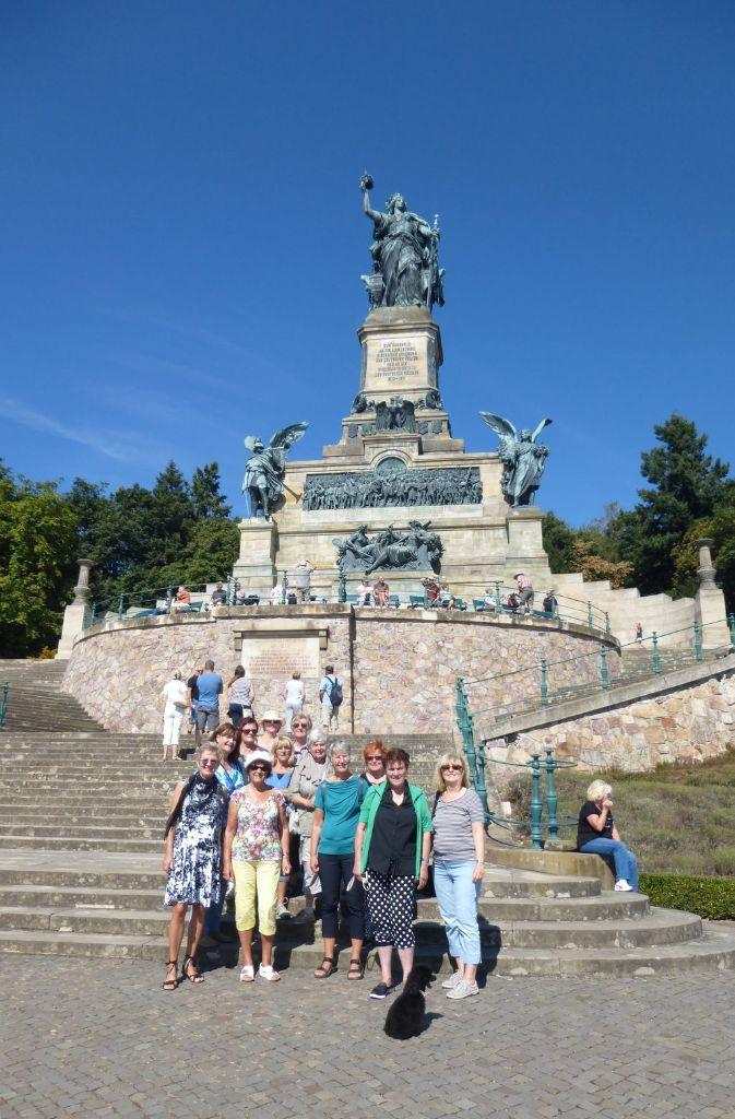 Linedancer am Niederwalddenkmal