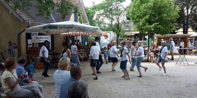 Linedance Auftritt