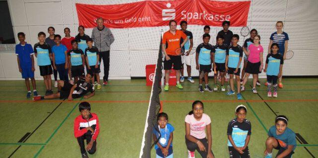 Teilnehmer Badmintoncamp 2021